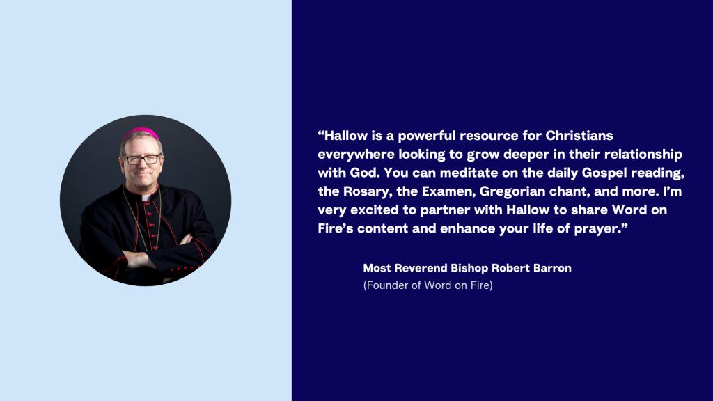 Hallow App - Bishop Barron