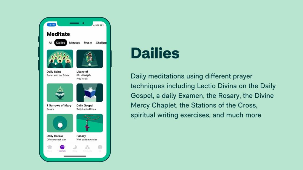 Hallow App - Schools - Dailies