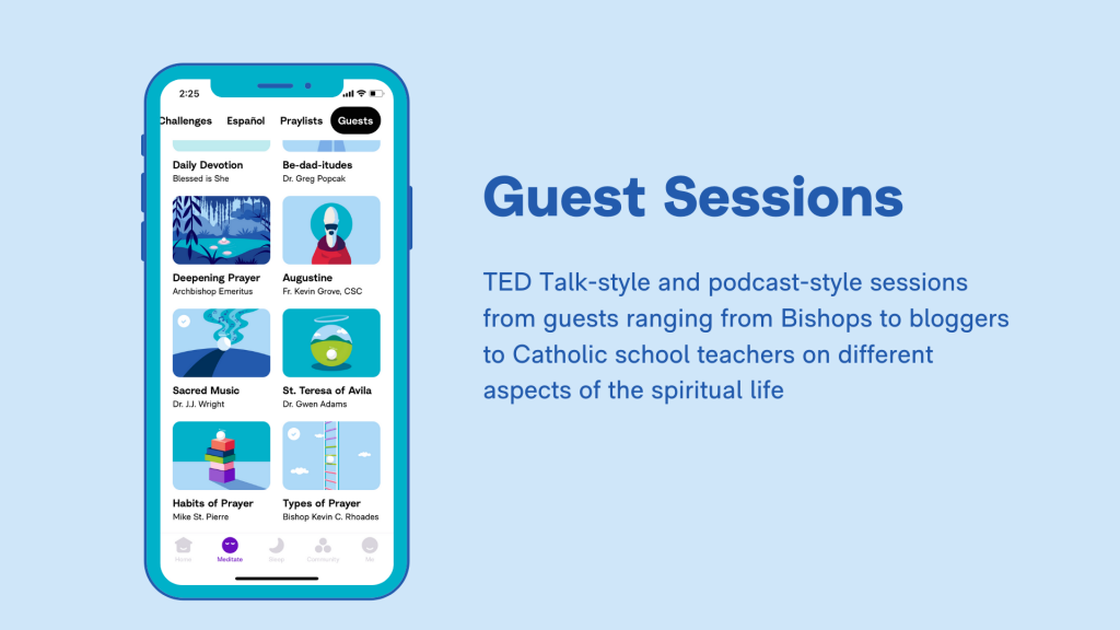 Hallow App - Schools - Guest Sessions
