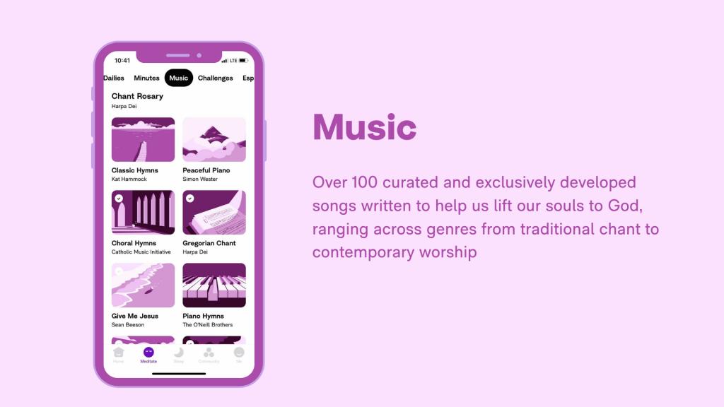 Hallow App - Schools - Music