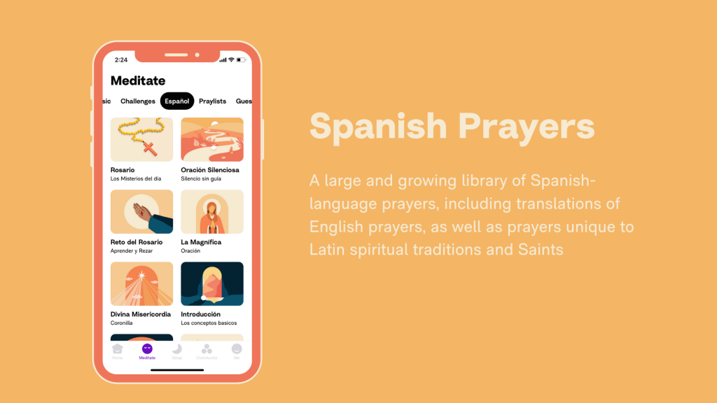 Hallow App - Schools - Spanish Prayers