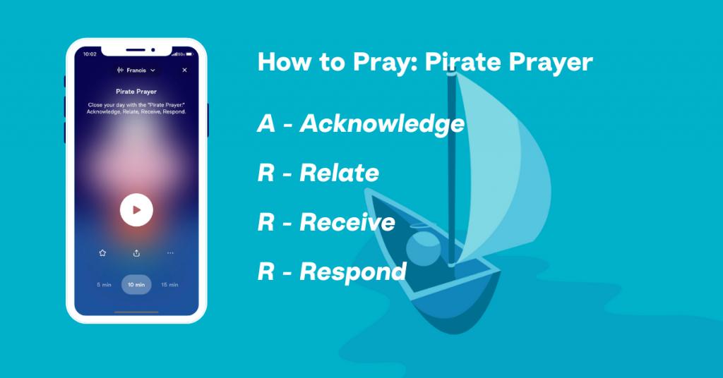 Hallow App - How to Pray - Pirate Prayer