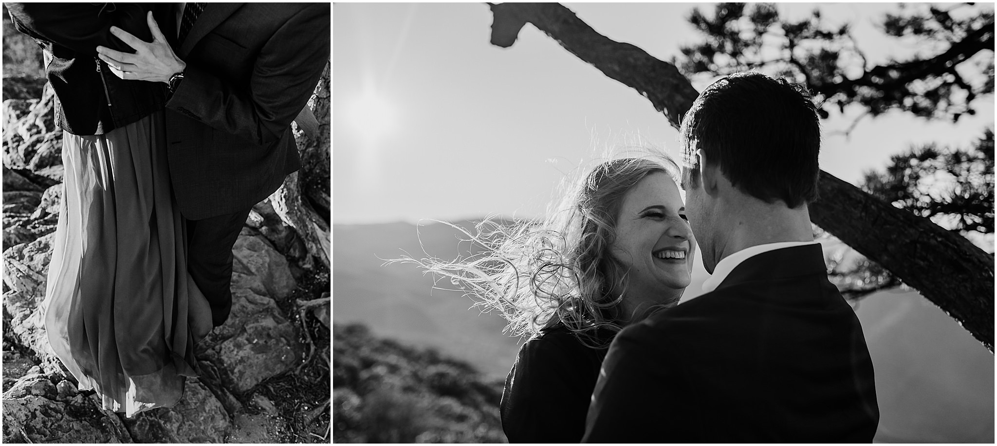 Ravens Roost Engagement Session,engagement session,lyndhurst virginia,ravens roost overlook blue ridge parkway, Alicia and Josh Ravens Roost Engagement Session
