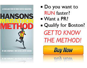 Hansons Marathon Method - The Book - Buy it Today!