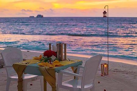 【馬爾地夫浪漫燭光晚餐】Maafushi居民島