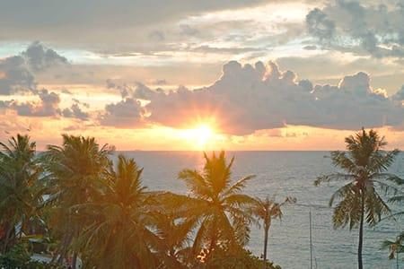 【夕陽星空中東之夜】Maafushi居民島