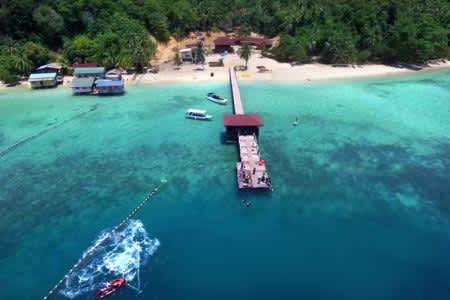 陶夢島一日遊-斯邦加島-Sepanggar Island