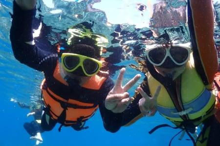 【澎湖七美岛一日游】机车PAPAGO+月鲤湾浮潜或独木舟体验