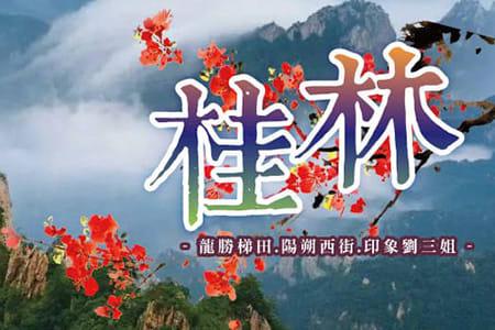 中國廣西五日遊桂林龍勝梯田陽朔西街印象劉三姐