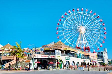 沖繩中部經典一日遊BlueSeal製冰趣東南植物園永旺來客夢或美國村