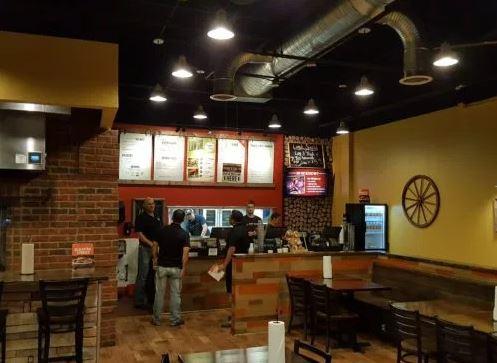 Cowboy Chicken restaurant view