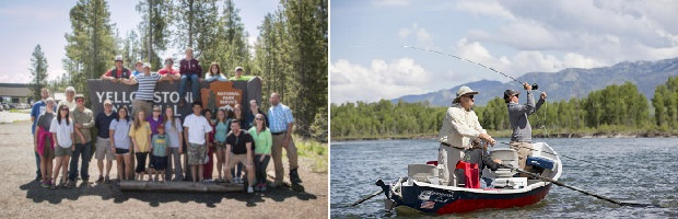 Campers learn about conservation and nature & A Day on Snake River