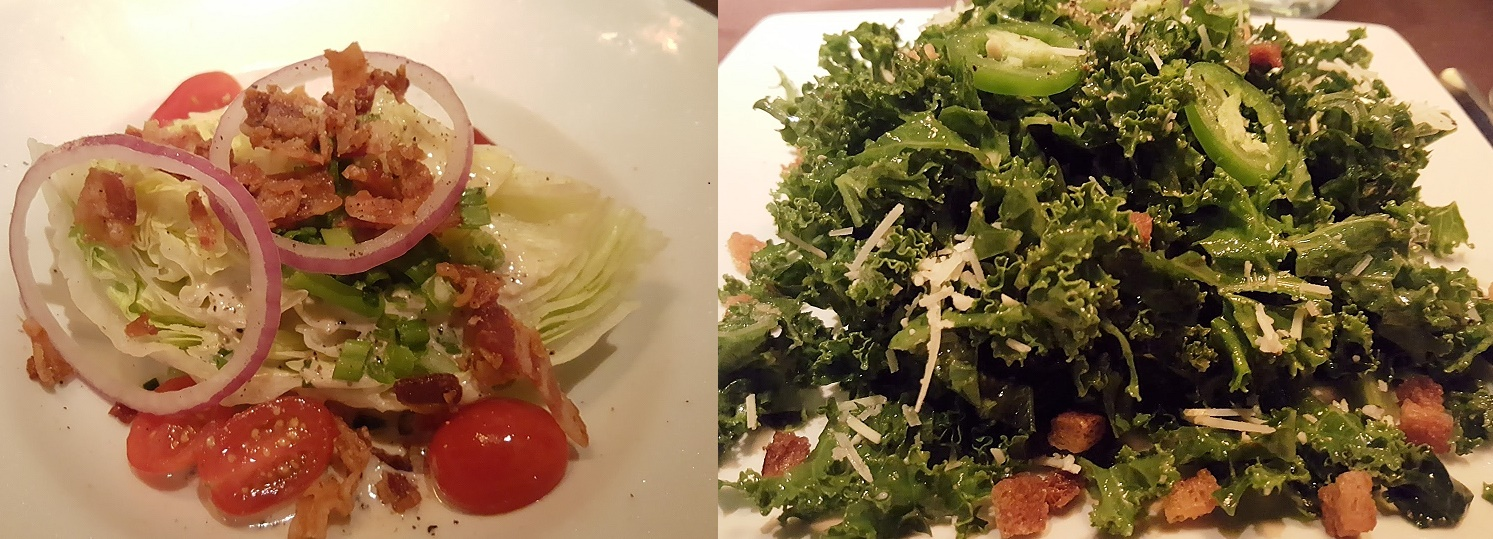Wedge and Kale Salad