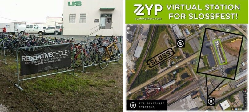 Bike to Sloss - Valet with Redemptive or Zyp