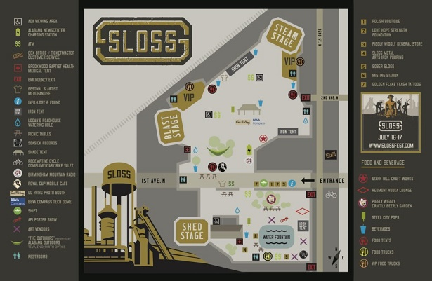 Slossfest.com map