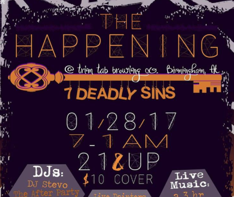 The Happening 7 Deadly Sins