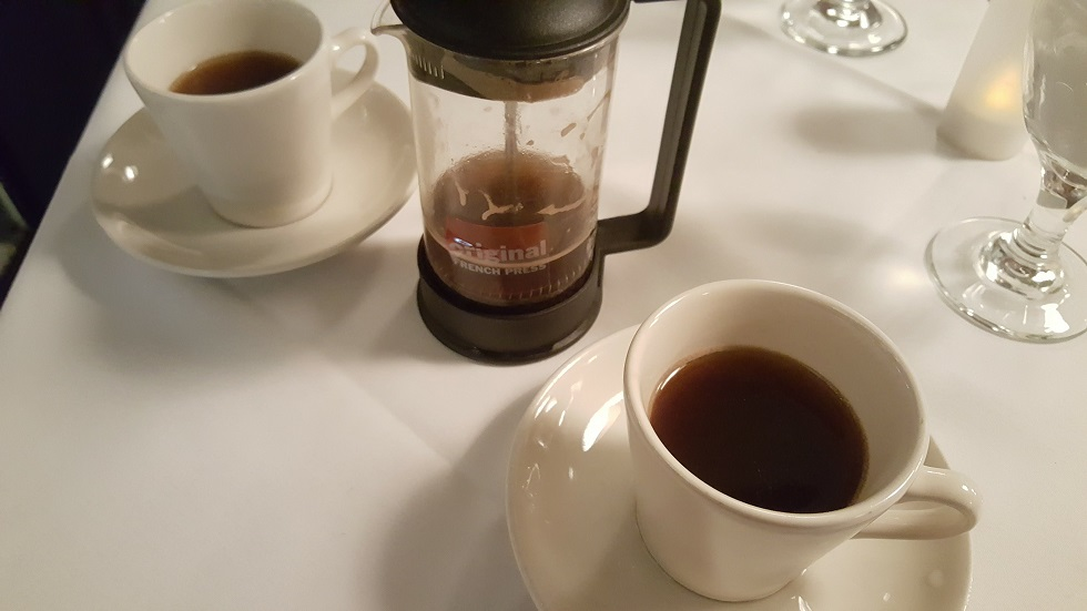 WRW Little Savannah Coffee in a French Press
