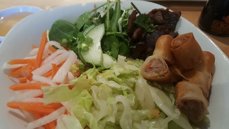 WRW Pho Pho Vietnamese and Sushi Bar Close up