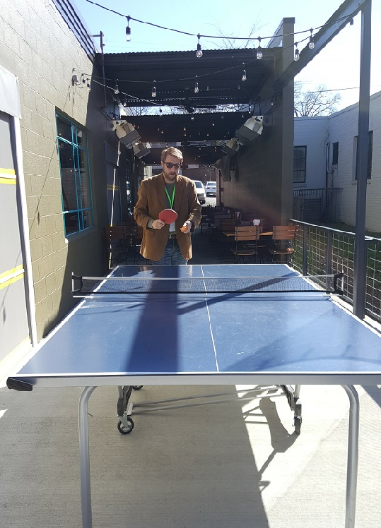 Ping Pong on Patio