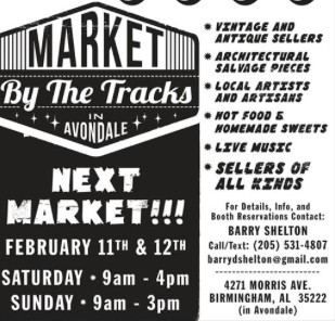 Market By the Tracks Logo