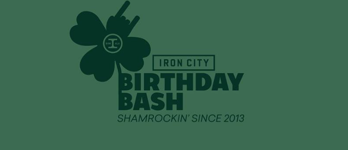 St. Patrick's Iron City Birthday Bash