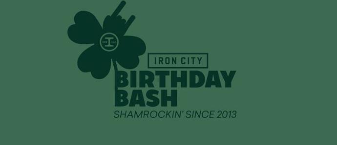 St. Patrick's Iron City Birthday Bash