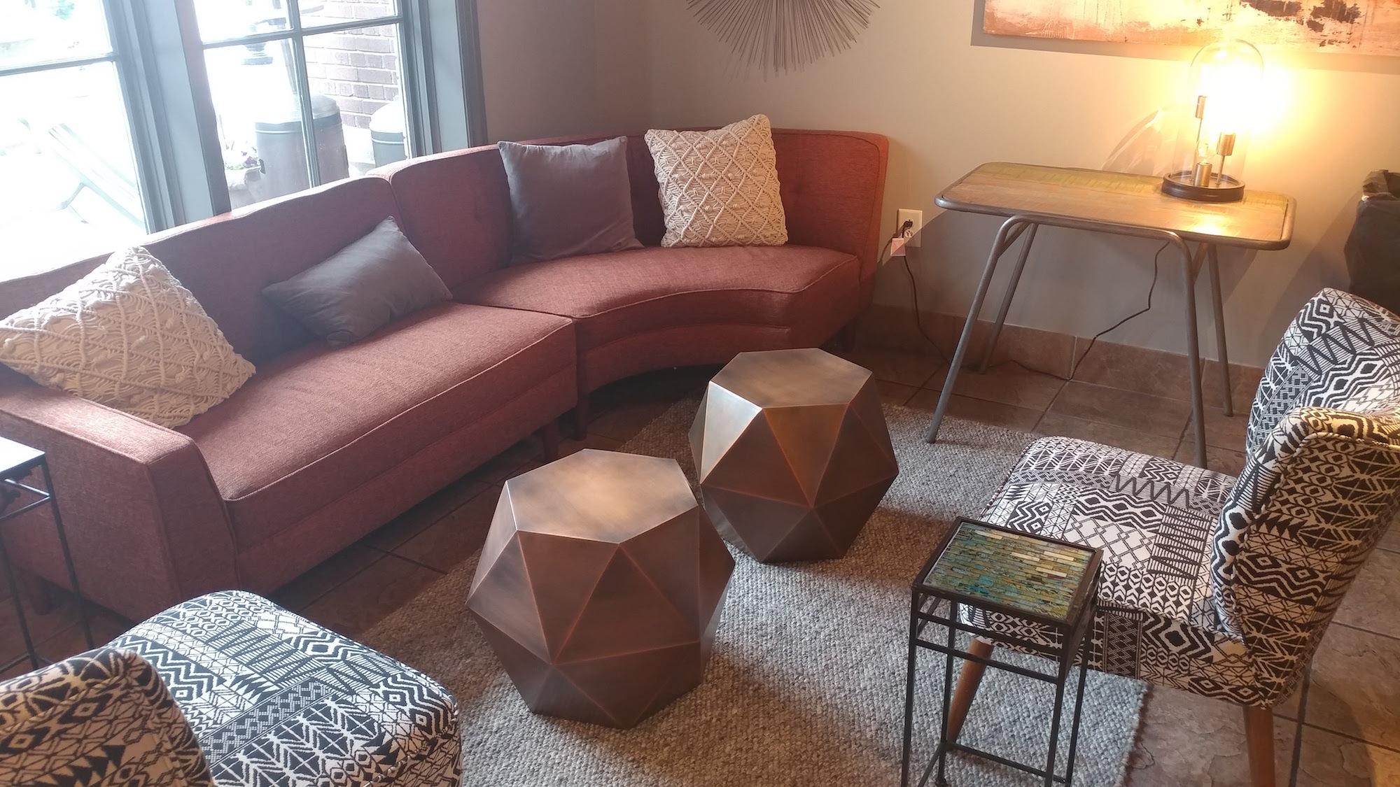 SoHo Social Lounge Area