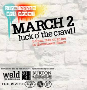March Art Crawl Logo