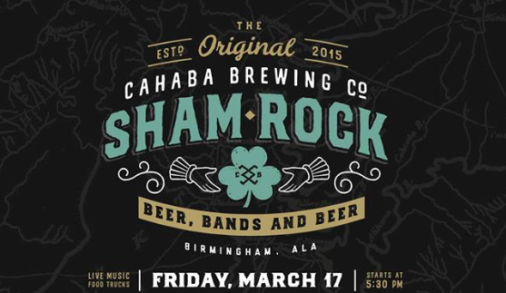 Shamrock at Cahaba Brewing Company