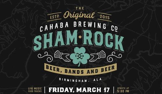 Shamrock at Cahaba Brewing Company