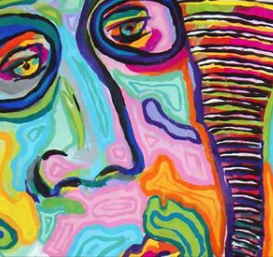 Colorful Face Art