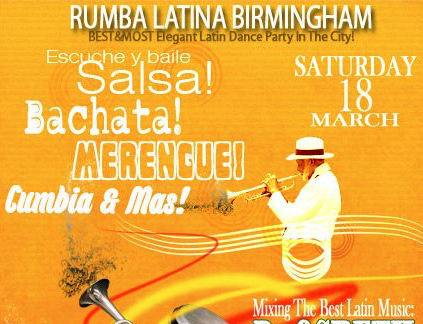 Rumba Latina Birmingham
