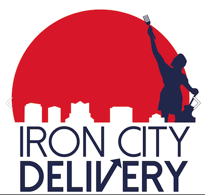 Iron City Delivery Logo