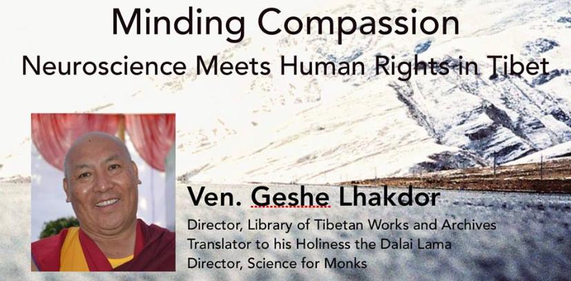 Ven Geshe Lhakdor Minding Compassion Credit:Emory University