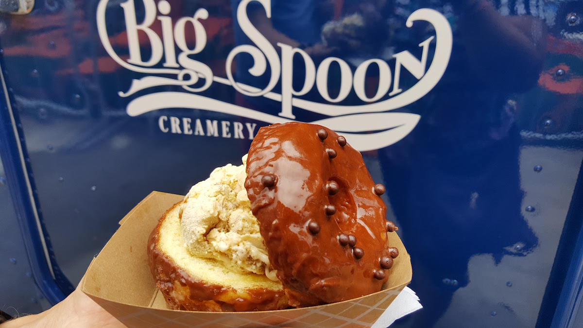 Big Spoon Creamery Hero Donuts Team Up!