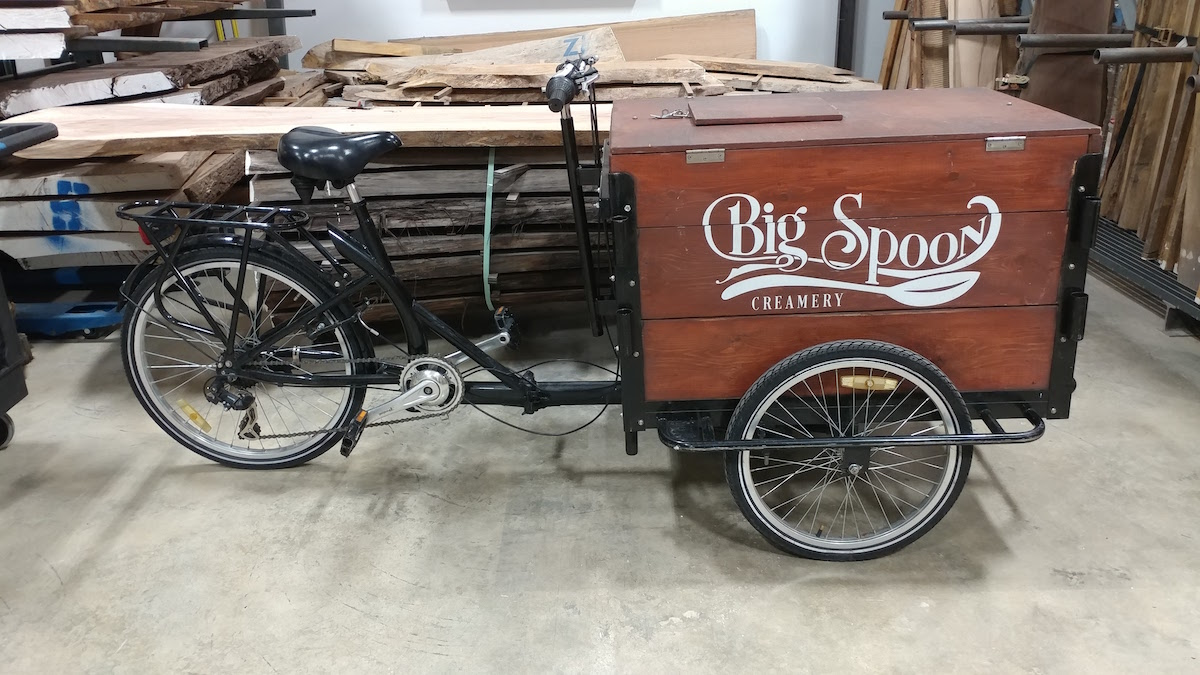Big Spoon Creamery Tricycle