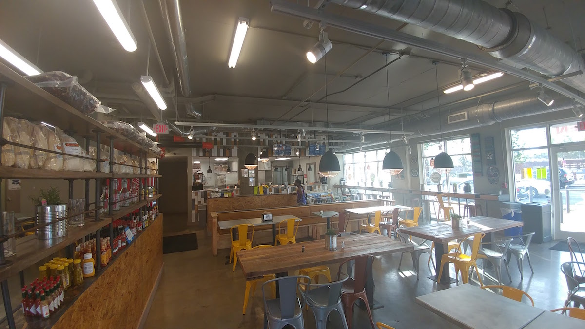 Interior Shot of Cosecha Urban Kitchen