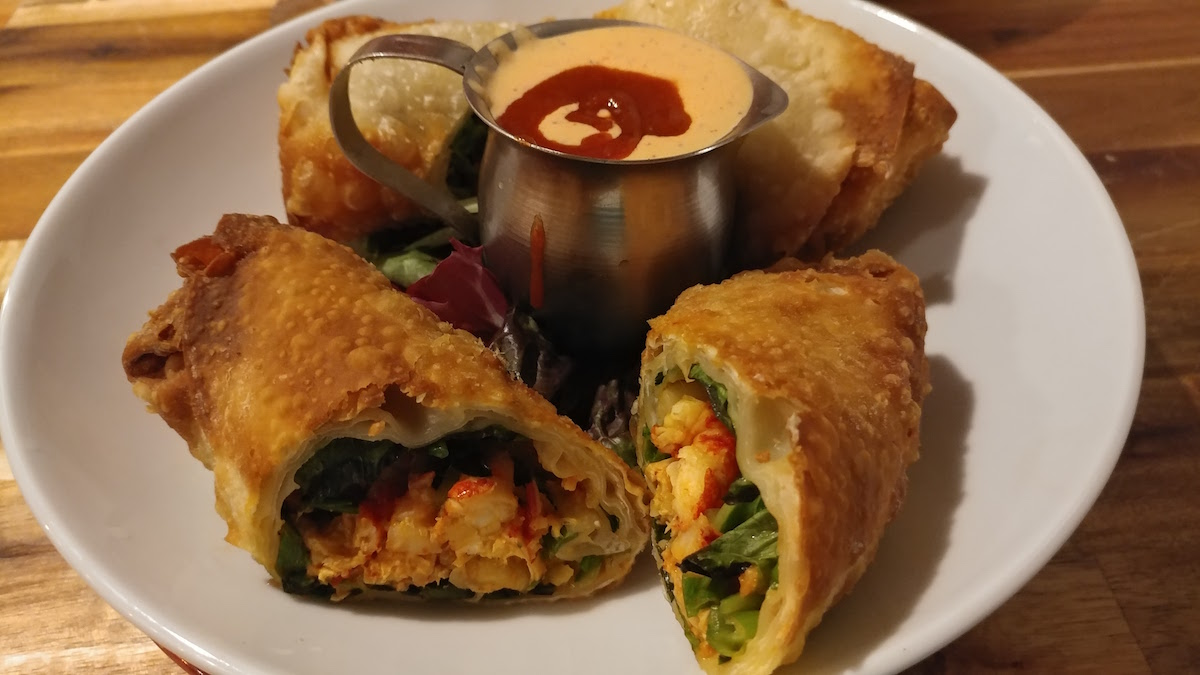 Fig Tree Cafe Crawfish Egg Rolls