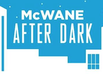 McWane After Dark Blue Logo