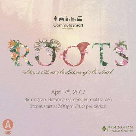 Arc Stories ROOTS plant logo