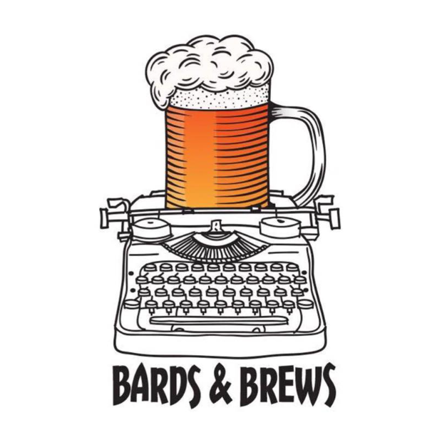 Bards and Brews Beer on Typewriter