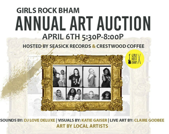 Girls Rock Auction Picture Frame