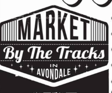 Market by the Tracks in Avondale Logo