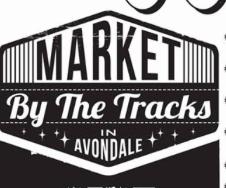 Market by the Tracks in Avondale Logo