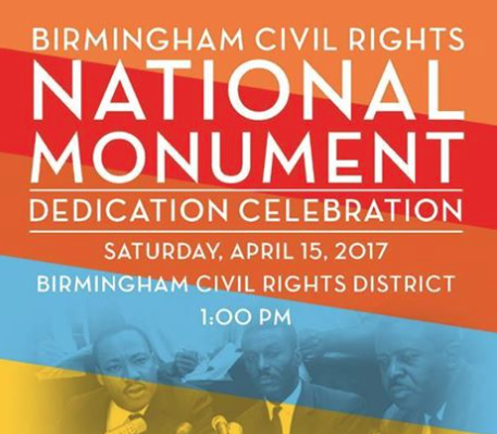 National Monument Civil Rights Event