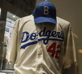 Jackie Robinson Baseball Uniform
