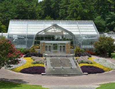 Birmingham Botanical Gardens Green House