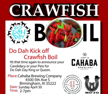 Do Dah Day Crawfish Boil Poster