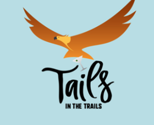 Tails in the Trails Logo Golden Eagle