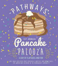 Pathways Pancake Palooza Logo